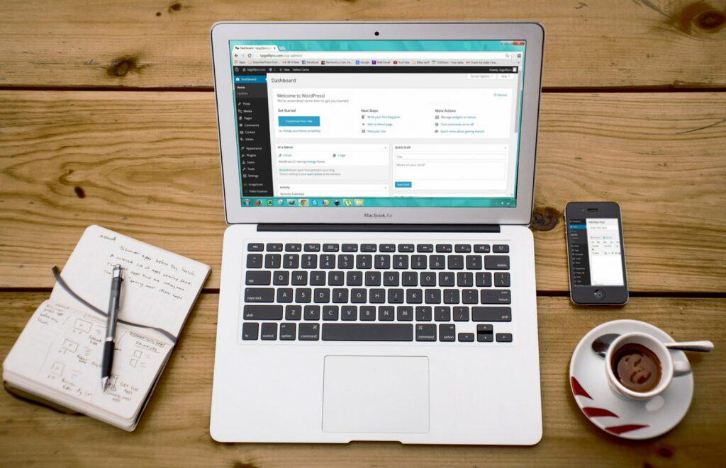 responsive webdesign mokup webseite wordpress cms system